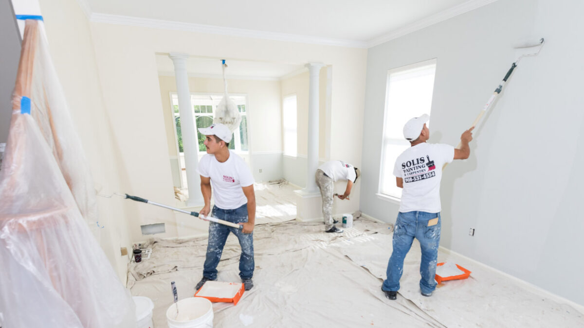 Interior painting services in Knoxville TN
